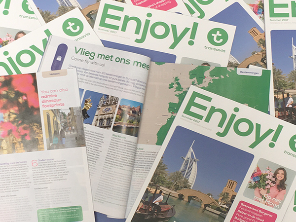 Enjoy! Transavia Magazine