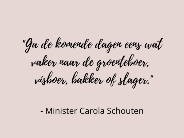 Carola Schouten quote